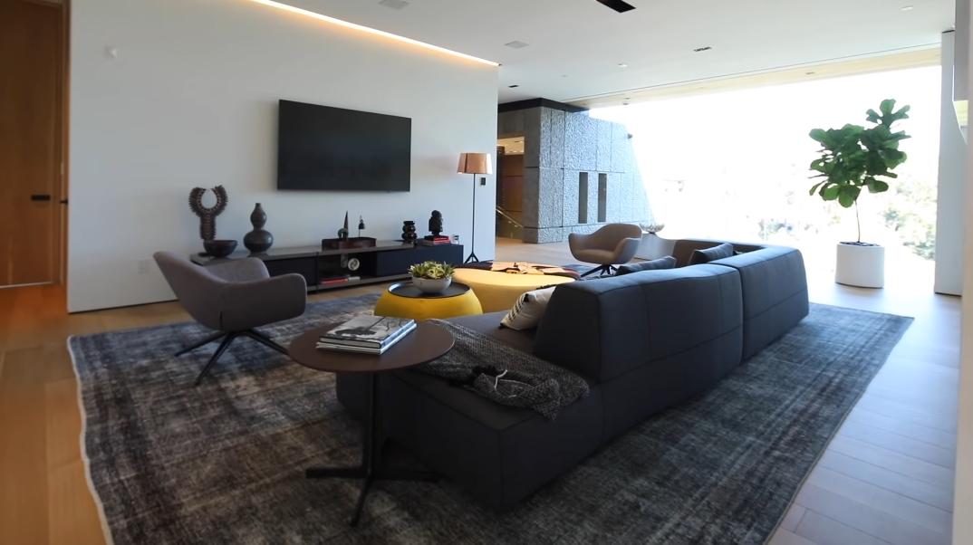 65 Interior Design Photos vs. 281 Bentley Cir, Los Angeles, CA Ultra Luxury Modern Mega Mansion Tour