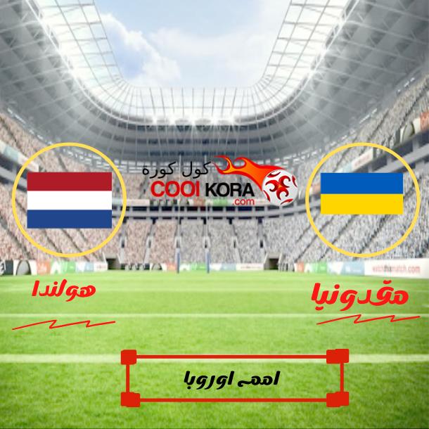 تقرير مباراة هولندا و مقدونيا بطولة امم اوروبا
