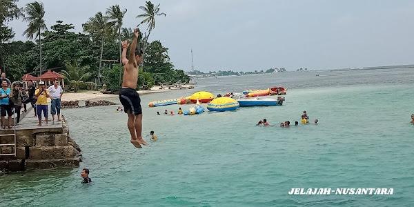 rencana perjalanan paket wisata private trip pulau tidung 3 hari 2 malam kepulauan seribu selatan