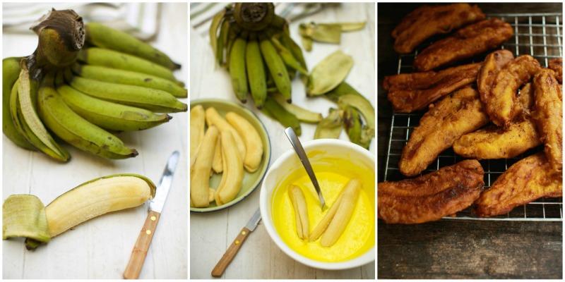 Masukkan Pisang Panaskan Minyak Dalam Kuali Goreng Hingga Kuning Keemasan