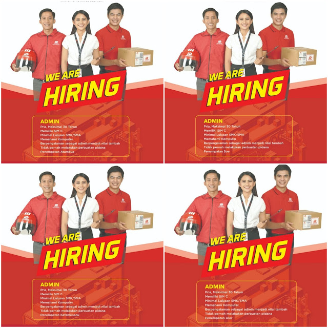 Lowongan Kerja ID Express Sebagai Admin