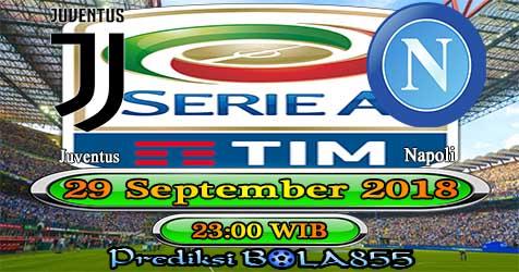 Prediksi Bola855 Juventus vs Napoli 29 September 2018