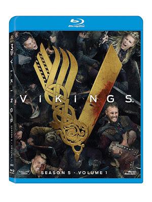 Vikings Season 5 Volume 1 Blu Ray