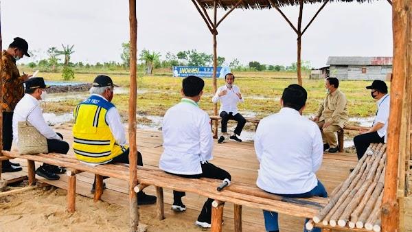 Garap 30 Ribu Hektare Lumbung Pangan, Mentan Latih 300 Babinsa Bercocok Tanam