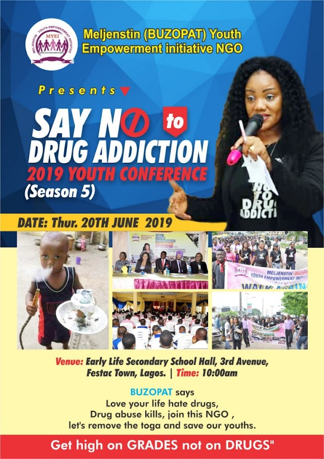 ALL SET FOR 5TH 'SAY NO TO DRUG ADDICTION' YOUTH CONFERENCE