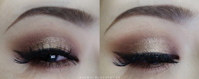 Anastasia Dipbrow Pomade Dark Brown, Etude House Color My Brows, e.l.f Cream Eyeliner Brown, Red Cherry 43 Lashes