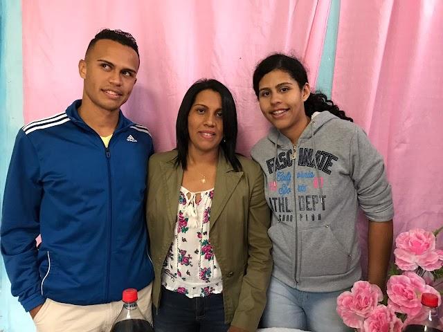 FOTOS festa surpresa para elesbonense Francisca Rosa em Santo Amaro-SP