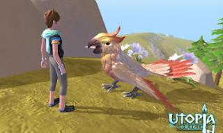 Cara Taming Mottled Parrot di Utopia: Origin