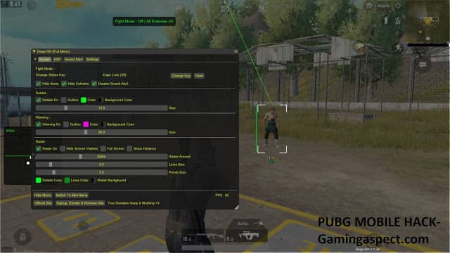 PUBG Emulator ESP hack