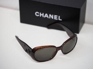 シャネルのサングラス 5113-A c.538/73 オールブラックカメリアをお買い取り致しました