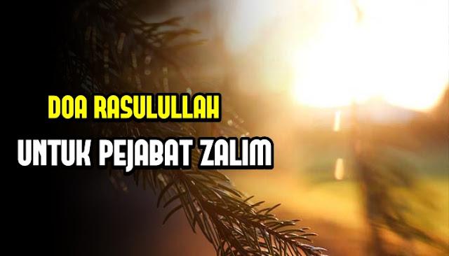 Doa dari Rasulullah untuk Para Pejabat yang Menyulitkan Umatnya