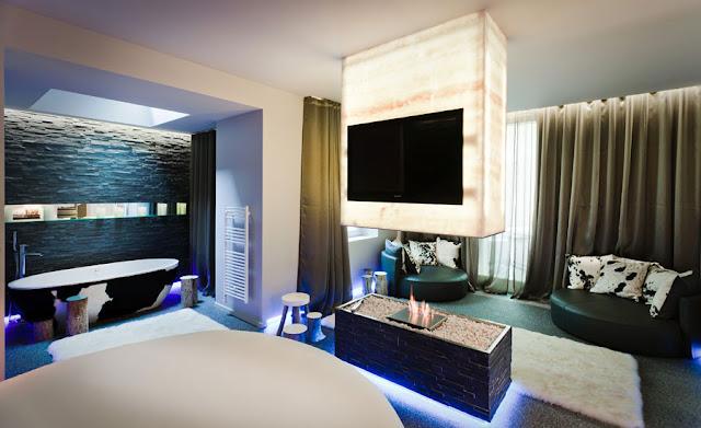 Dormitorios de hotel suite lovez vous via www for Imagenes de habitaciones de hoteles de lujo