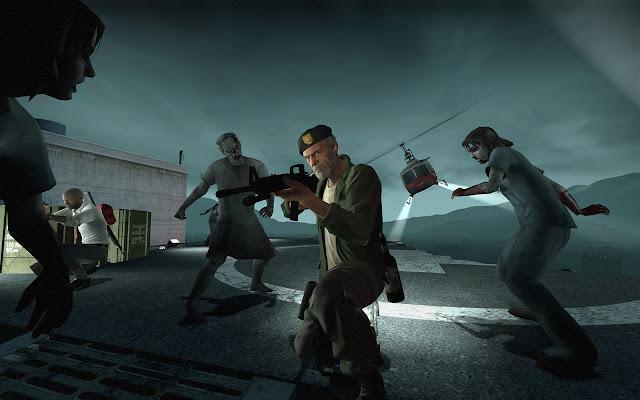 Official screenshot of Left 4 Dead