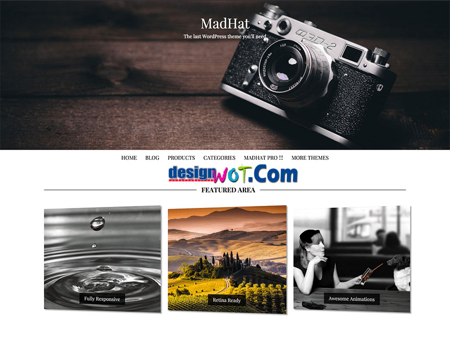 MADHAT WordPress Responsive Theme
