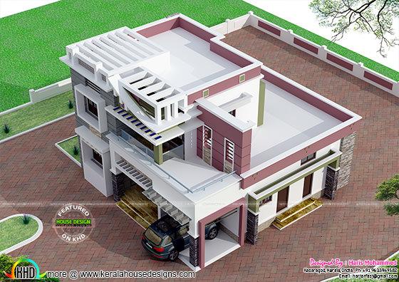 Modern home 2012 sq-ft