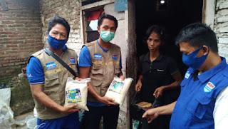 Cepat Tanggap Tim Hero Center Salurkan Bantuan Untuk Masyarakat Miskin Yang Viral Di Medsos
