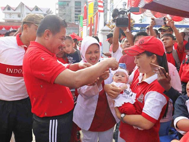 Antisipasi Polio, Campak dan Rubela, Dinas Kesehatan Ajak Warga Kota Jayapura ke Posyandu