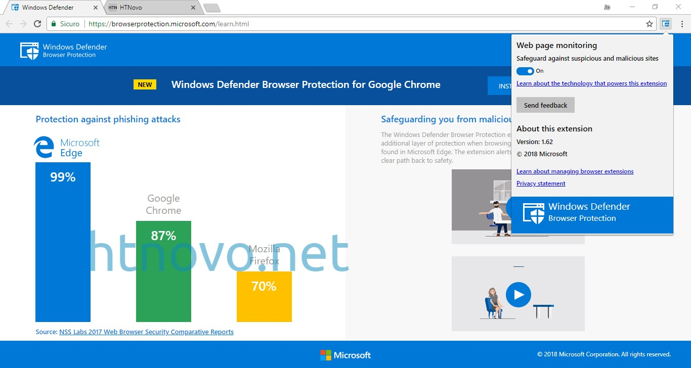 Windows-Defender-Browser-Protection