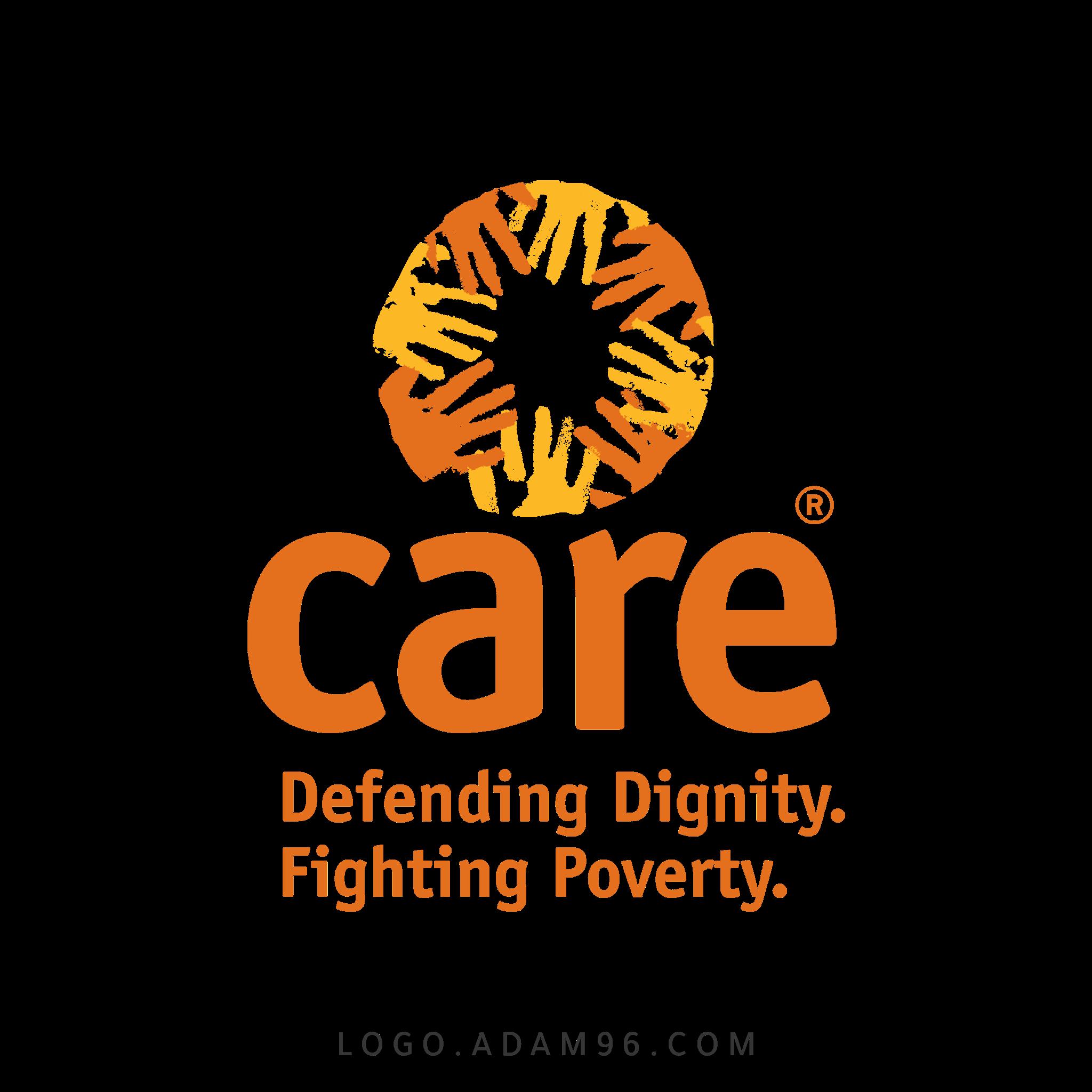 تحميل شعار منظمة كير العالمية لوجو رسمي عالي الجودة Logo Care PNG