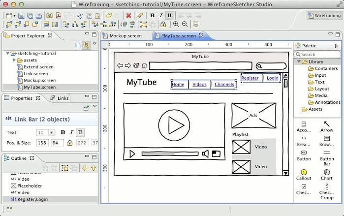 تحميل برنامج WireframeSketcher 6.2.2 النسخة الكاملة