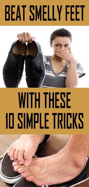 BEAT SMELLY FEET WITH THESE 10 SIMPLE TRICKS