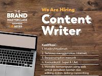 Lowongan Kerja Content Writer di Neyma Identity + Brand - Semarang