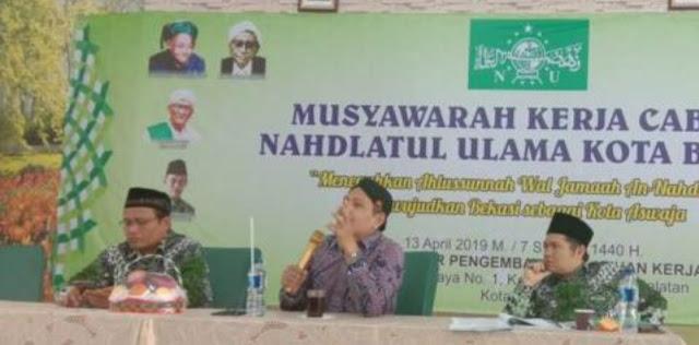 Ikut NU Hanya Ala Mbah Hasyim adalah Kampanye Memecah-belah NU