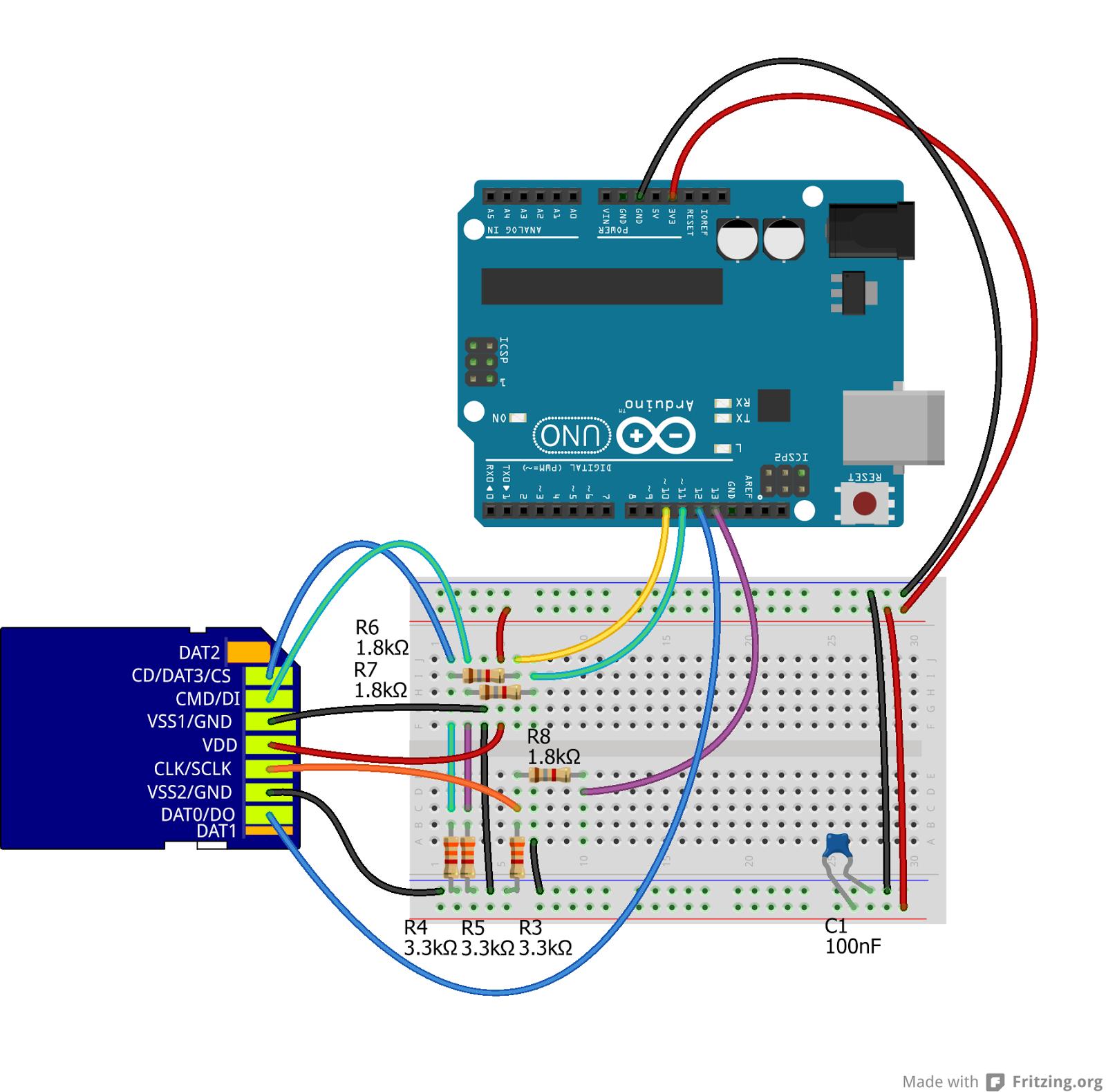 Schemi Elettrici Arduino : Daniele alberti arduino s come collegare