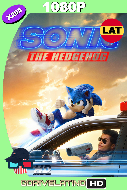 Sonic: La Película (2020) BDRip 1080p H265 10Bits Latino-Ingles MKV