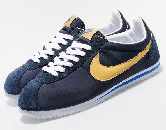 super popular c884c edf97 Nike Cortez Blue Gold