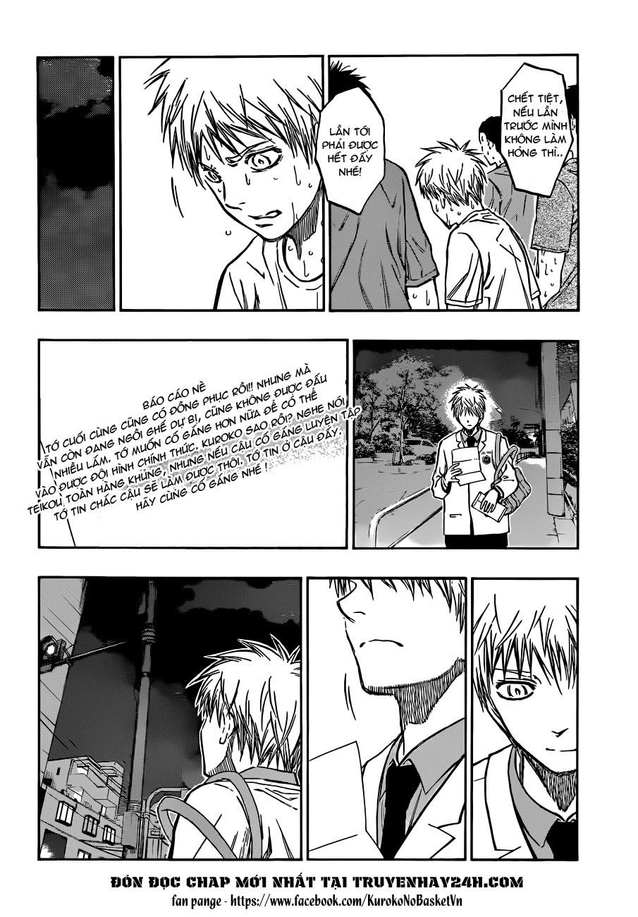 Kuroko No Basket chap 205 trang 6