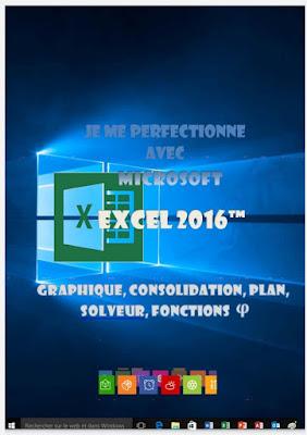 Je me perfectionne avec Excel 2016: Graphiques, consolidation, plan, nom, solveur...- Joël Green