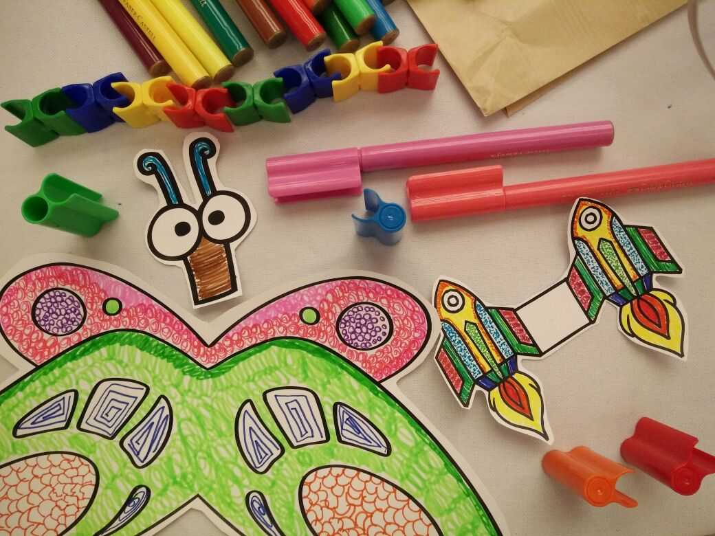 Andiyani Achmad Coloring And Doodling With Faber Castell