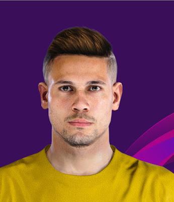 PES 2020 Raphaël Guerreiro Face by Lucas Facemaker