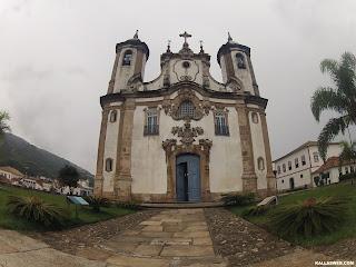 Igreja de Nossa Senhora do Carmo. Ouro Preto/MG.