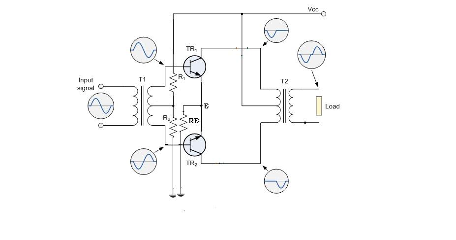 uses of transistors in circuit