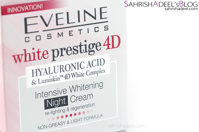 White Prestige 4D Day & Night Creams by Eveline Cosmetics - Review