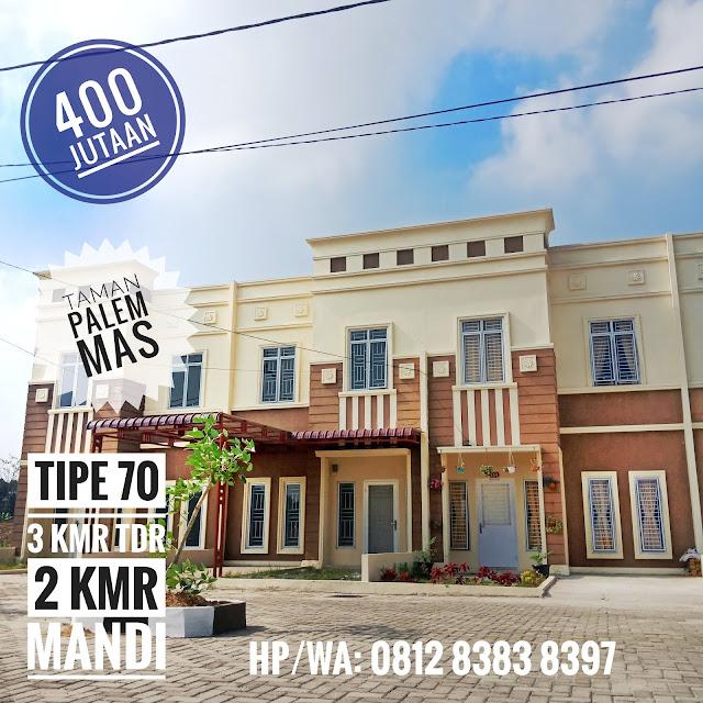 Beli Rumah Tipe 70 Gratis Biaya KPR, Pajak, Notaris Dan DP 10 Juta Di Taman Palem Mas Jalan Madirsan Tanjung Morawa Medan