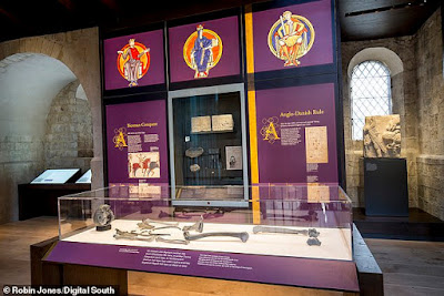 Bones of King Canute's wife, who 'walked over hot metal to prove she did not cheat on him', have been discovered in chests at the UK's Winchester Cathedral