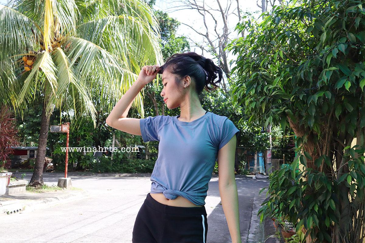 asian woman poses outside summer | INAHRTE