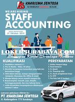 Lowongan Kerja Surabaya Terbaru di PT. Kharisma Sentosa Oktober 2019