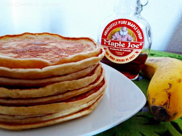 Tortitas de Plátano (Banana Pancakes)