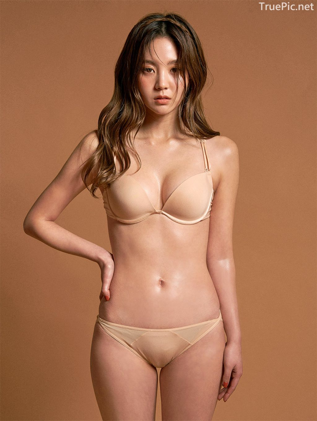 Korean Fashion Model - Lee Chae Eun - Nude For You Lingerie Set - TruePic.net - Picture 3