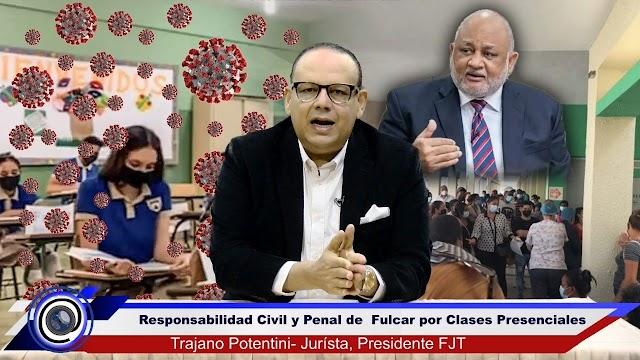 FJT Intimará por acto del alguacil a Fulcar para el cierre inmediato de las escuelas por nuevas cepas y aumento del Covid-19
