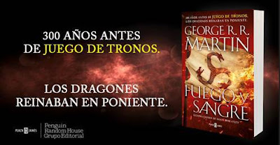 fuego y sangre nuevo libro de george r. r. martin en preventa en amazon game of thrones