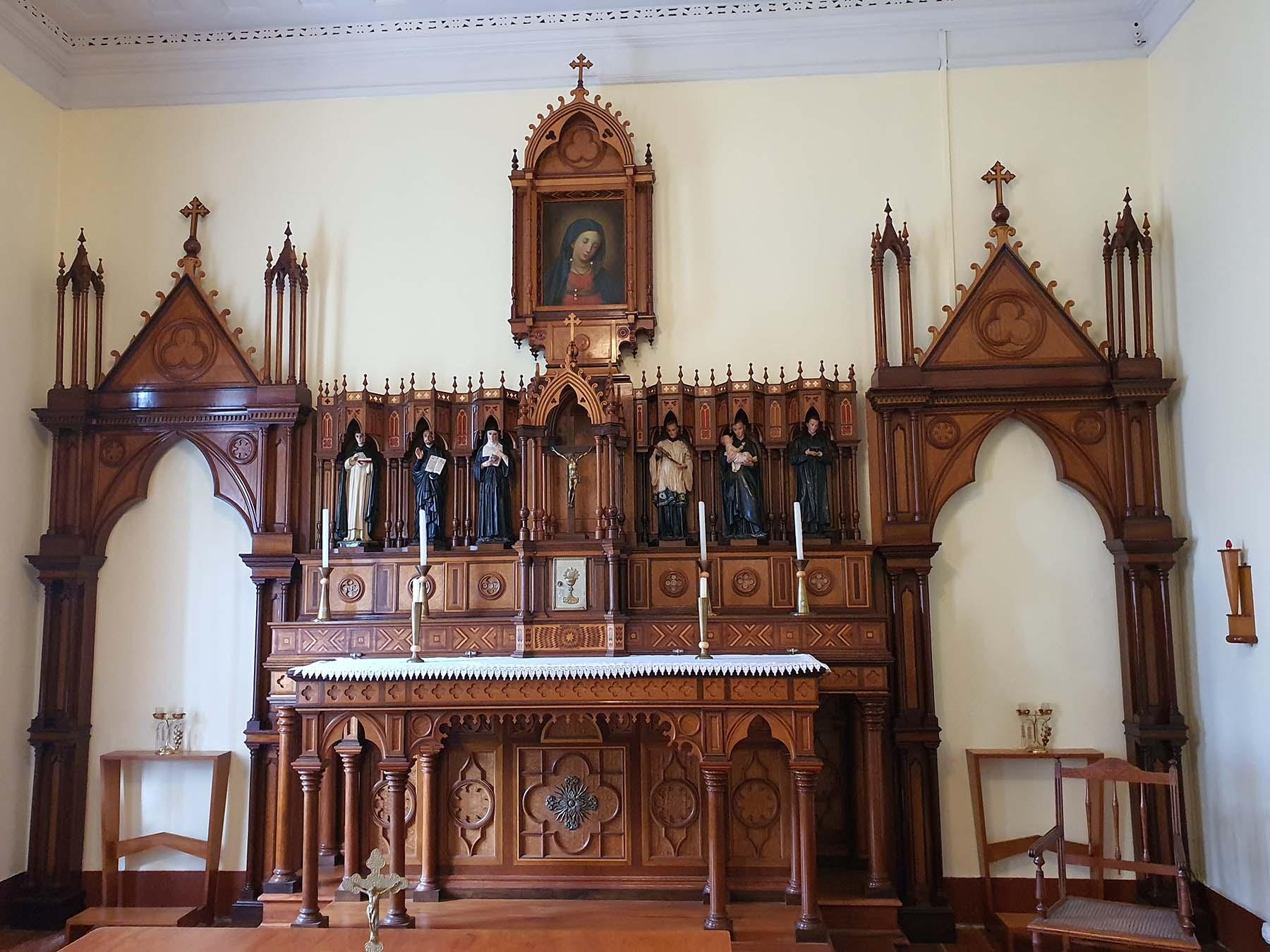 Capela Mater Pietatis, Colégio Anchieta, Nova Friburgo