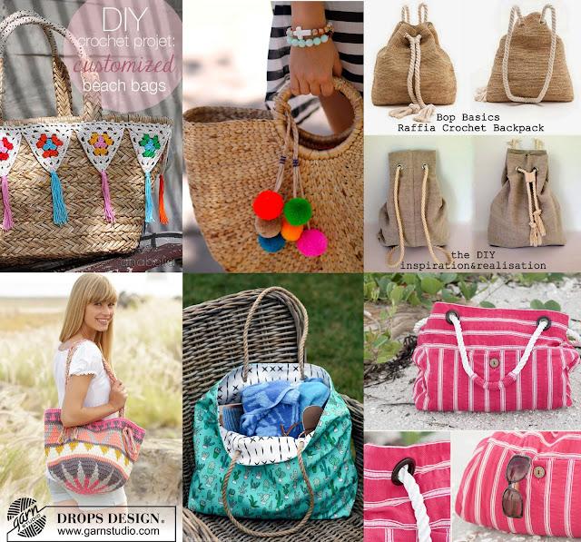 gataflamenca, DIY, playa, bolso, patrones, gratis, tutorial, free