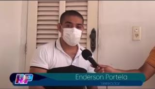 Vereador Enderson Portela critica saúde de Pedreiras