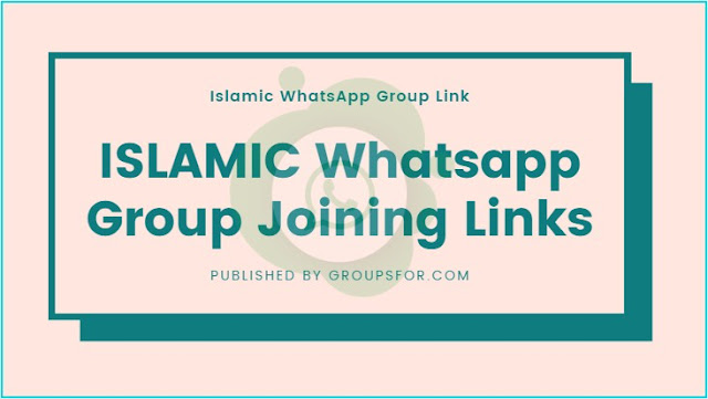 Islamic whatsapp group join link