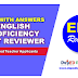 English Proficiency Test (EPT) Reviewer for Deped Teacher Applicants